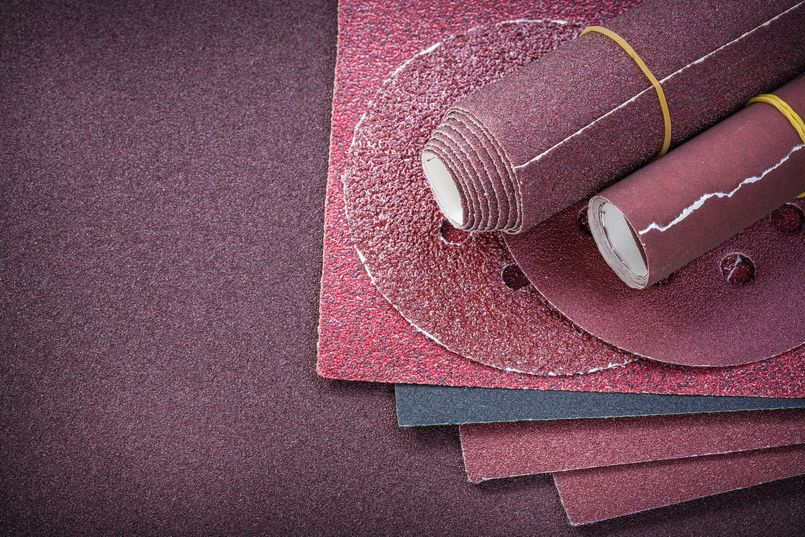Rodzaje papieru ściernego wykorzystywanego w warsztacie