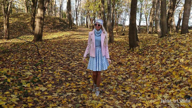 Pink i blue na Westerplatte