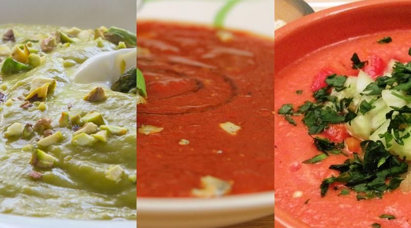 10 pomysłów na letnie zupy