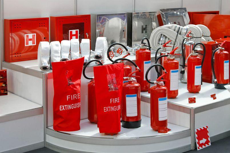 Wyposażamy firmę w sprzęt przeciwpożarowy