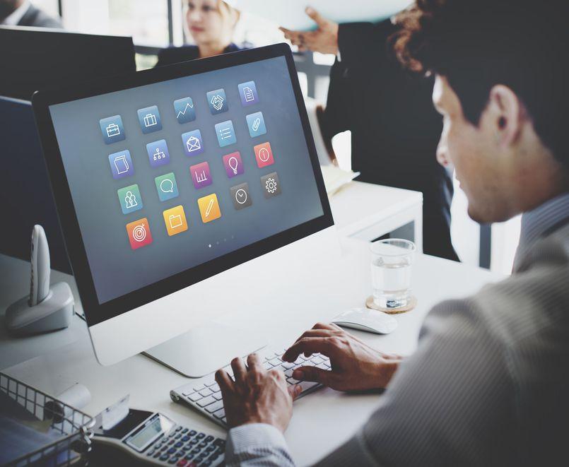 Programy użytkowe przeznaczone do komputera firmowego